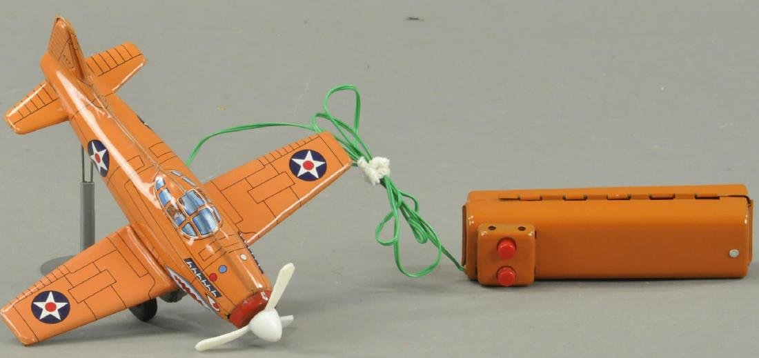 MARX REMOTE CONTROL AIRPLANE