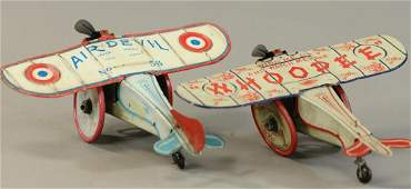 STRAUSS AIR DEVIL AND WHOOPEE PLANES