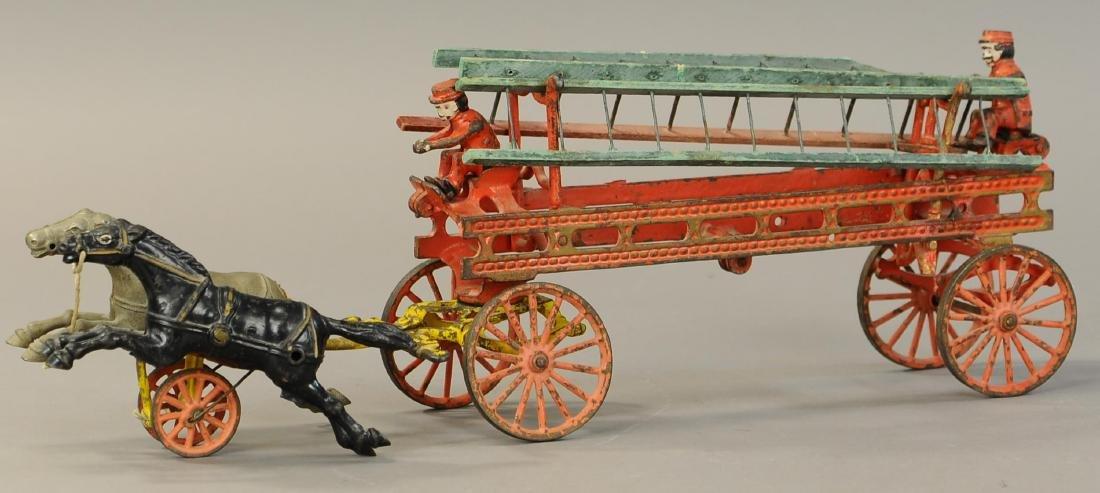HORSE DRAWN LADDER WAGON - 2