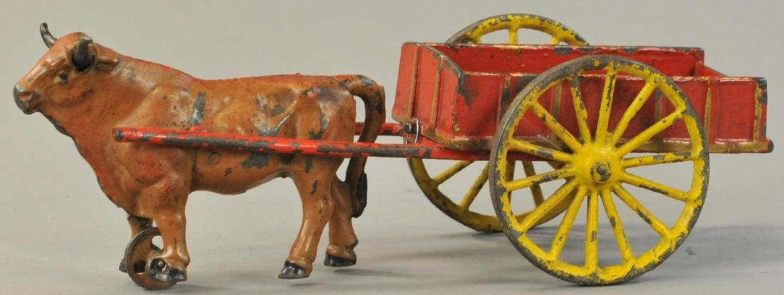HUBLEY OXEN CART WITH TOOLS - 2