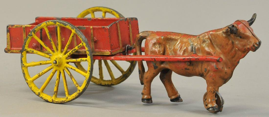 HUBLEY OXEN CART WITH TOOLS - 3
