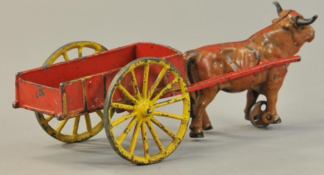 HUBLEY OXEN CART WITH TOOLS - 4