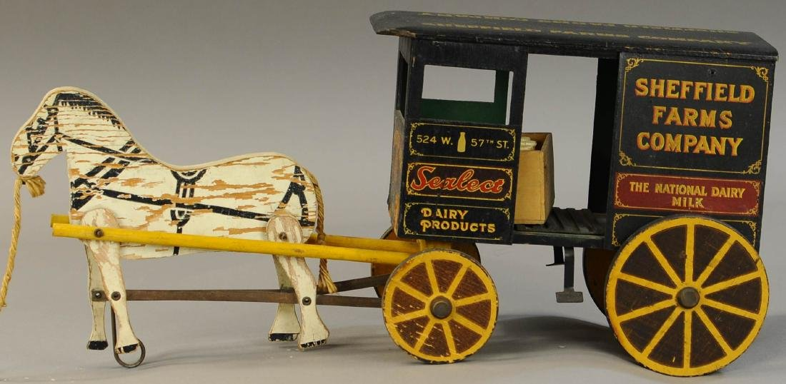 RICH TOYS SHEFFIELD FARM MILK WAGON