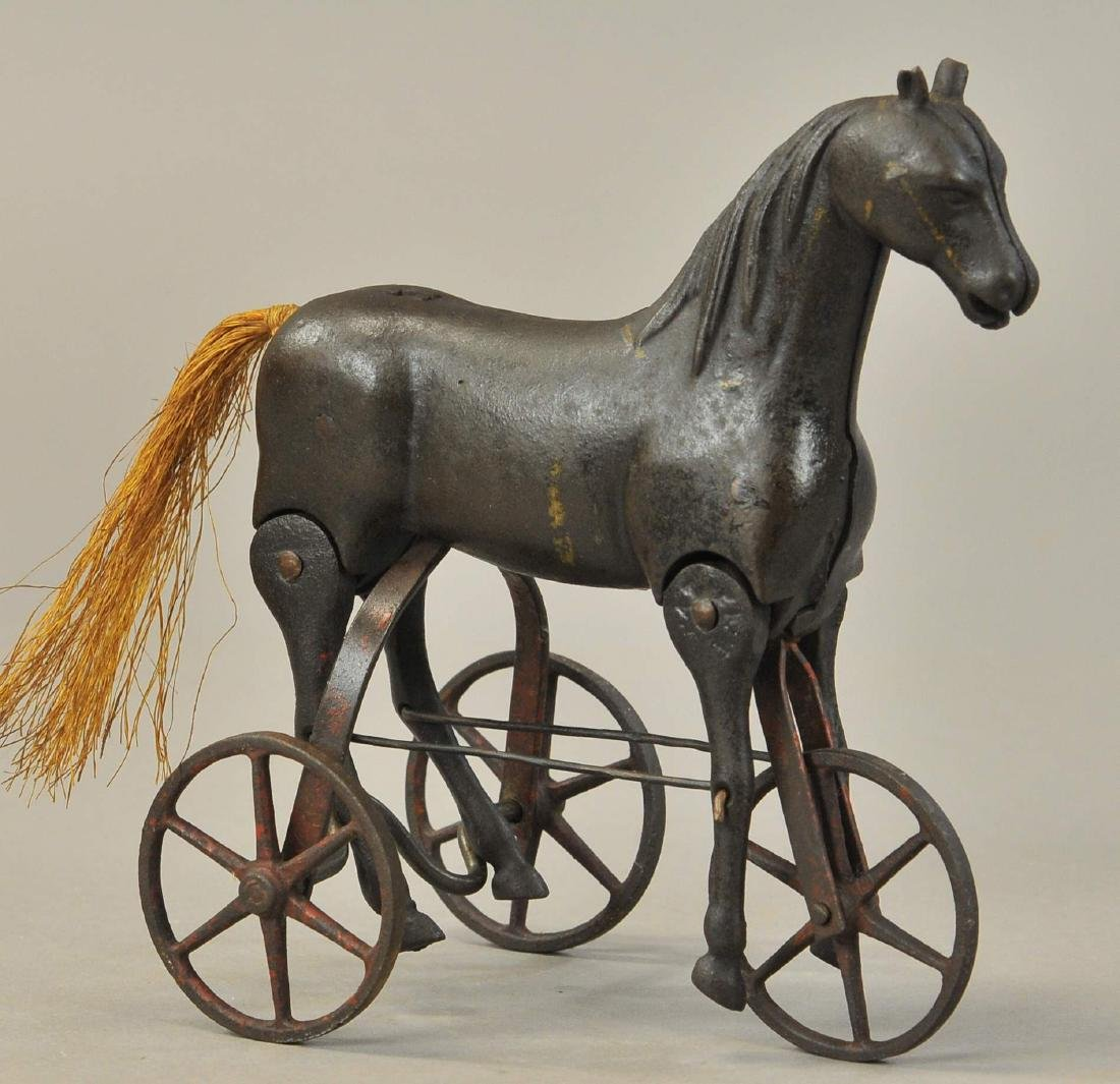 IVES ARTICULATED WALKING HORSE WHEELS