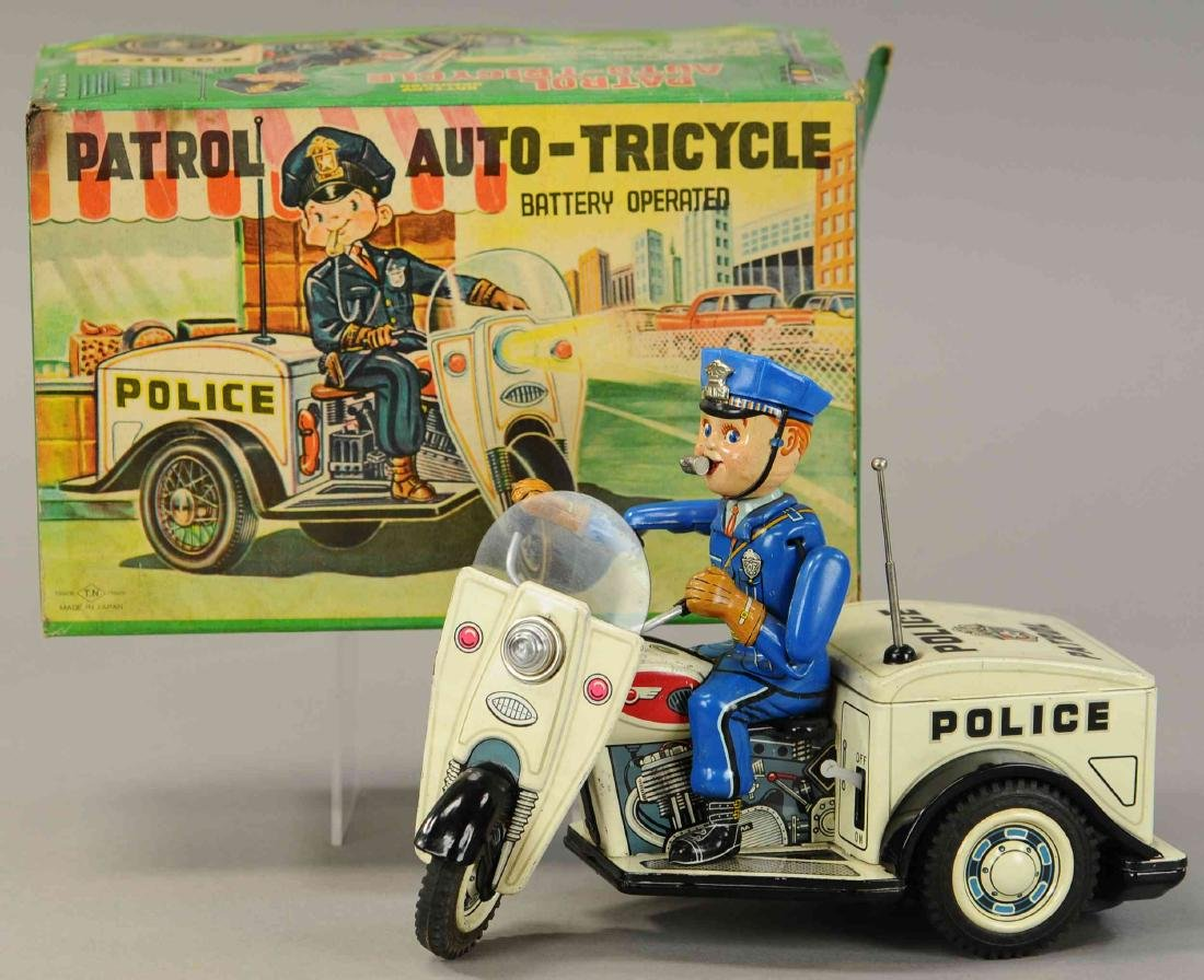 BOXED JAPANESE POLICE PATROL