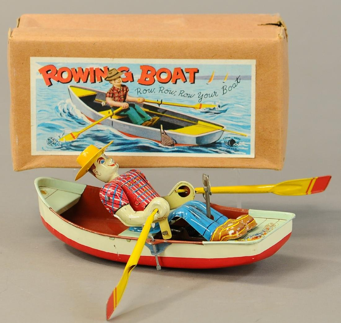 BOXED JAPANESE ROWING BOAT