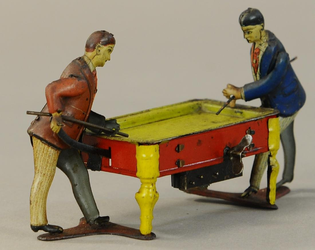 GERMAN DOUBLE BILLIARDS PLAYERS - 2