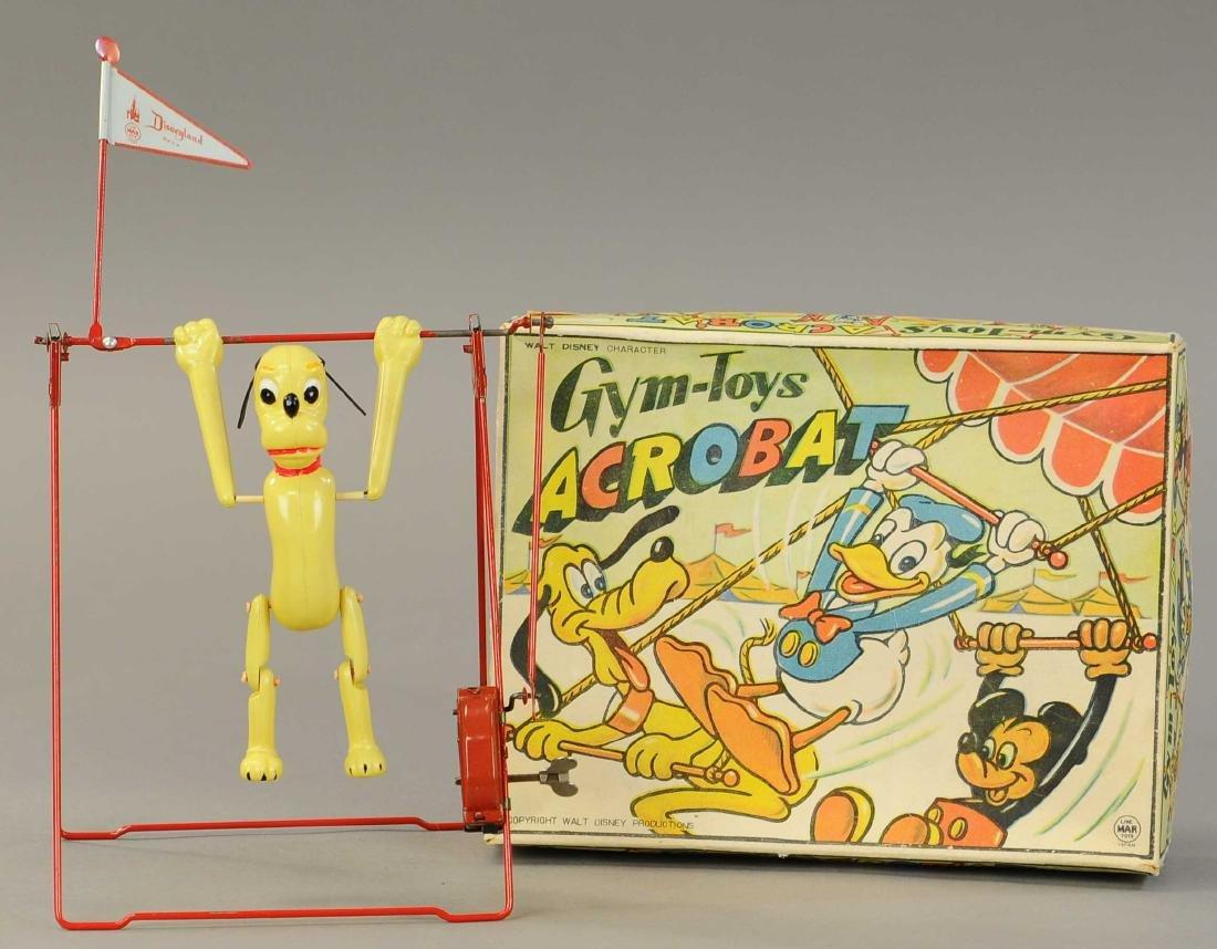 BOXED PLUTO THE ACROBAT