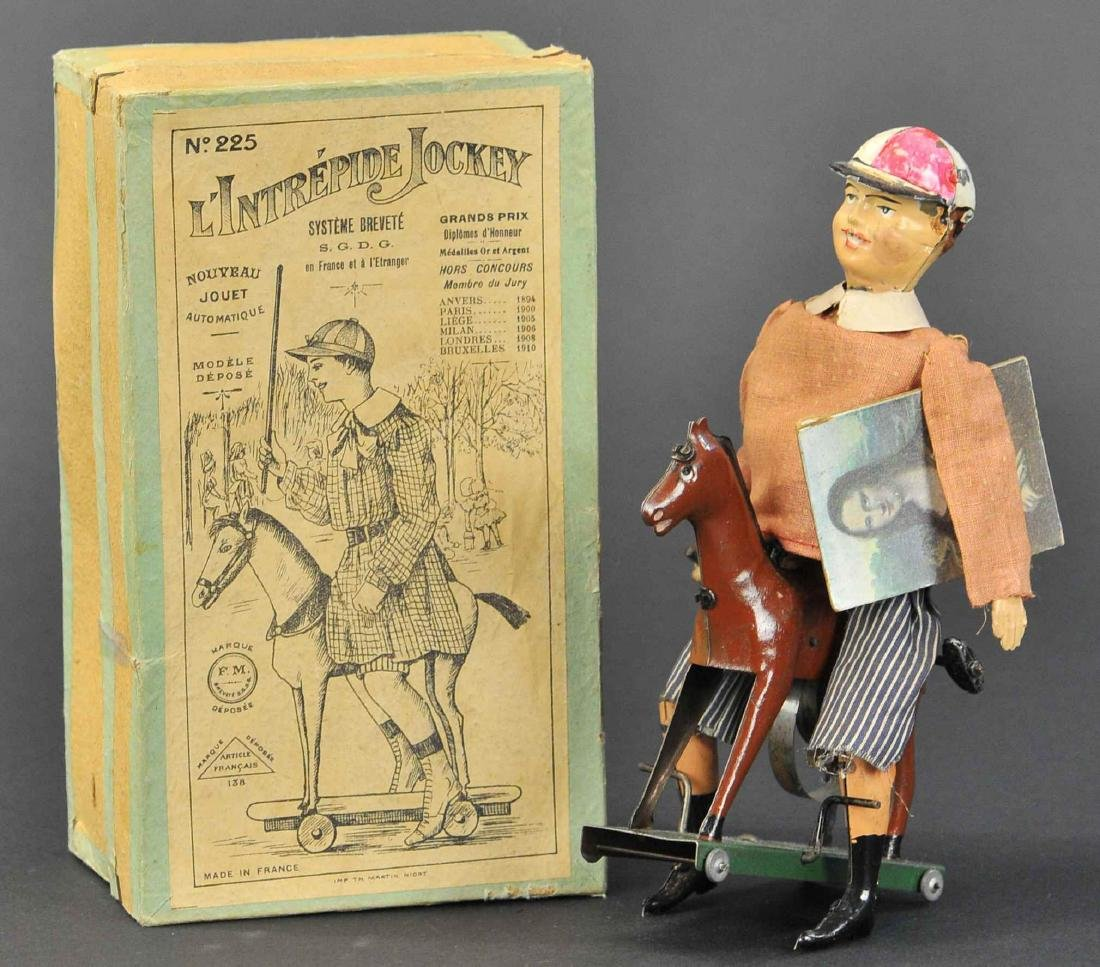 MARTIN LINTREPIDE JOCKEY WITH BOX