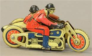 FRENCH RACER CYCLE W/ SIDECAR