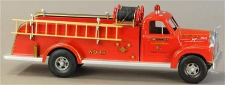 SMITTY TOYS NO. 13 MACK FIRE TRUCK