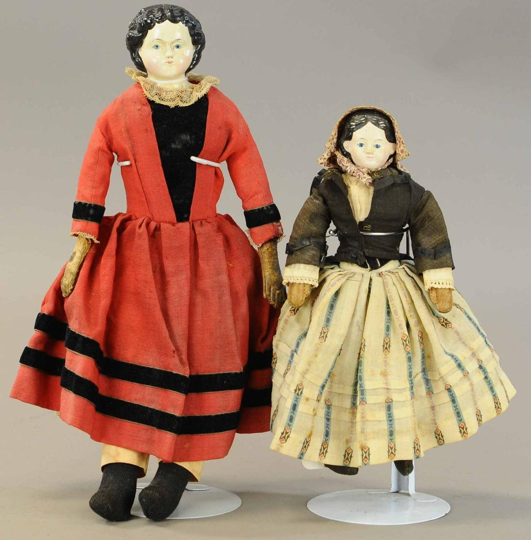 LOT OF TWO GREINER DOLLS