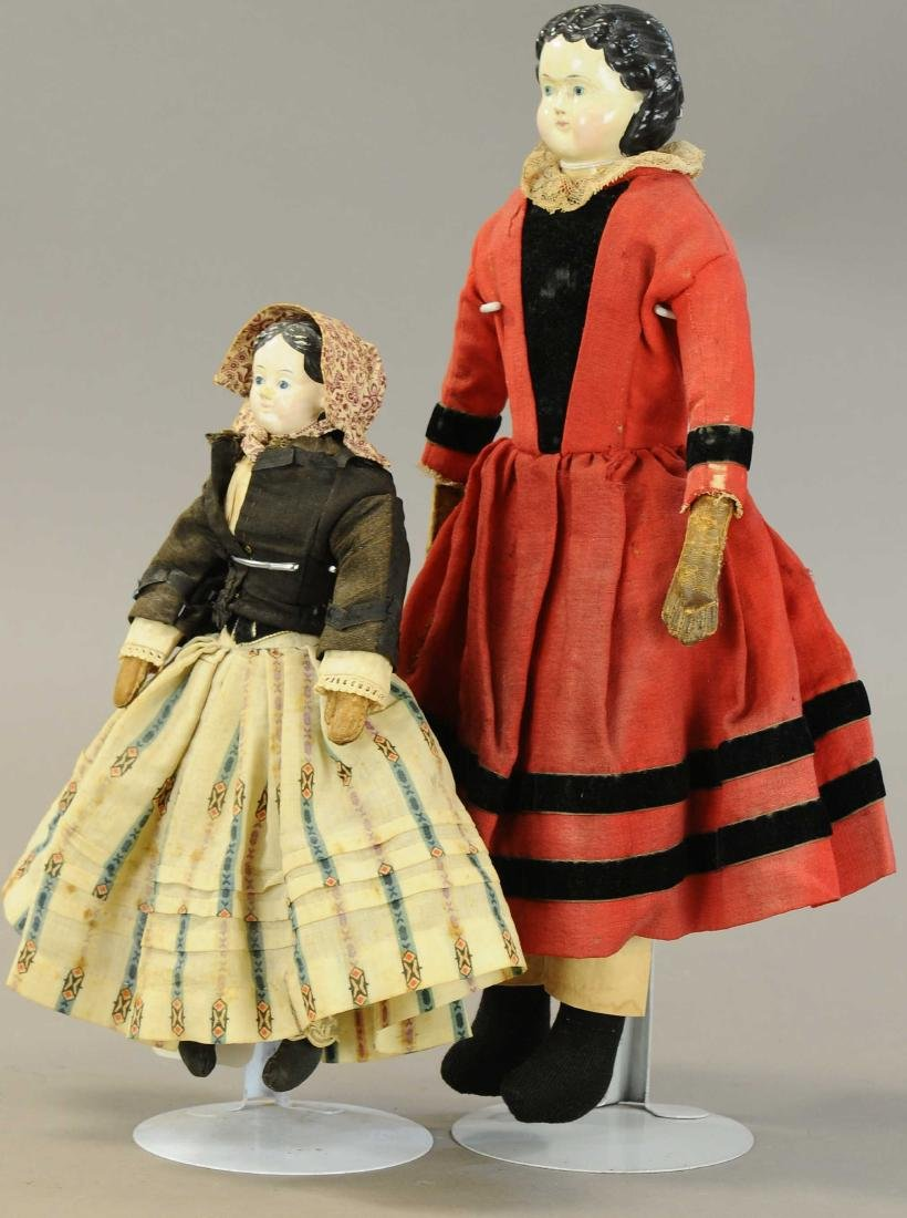 LOT OF TWO GREINER DOLLS - 2