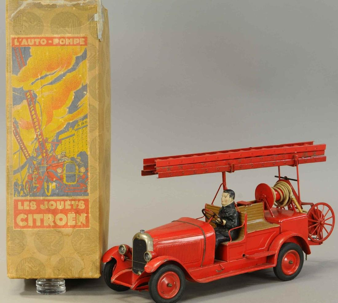 BOXED CITROEN FIRE ENGINE