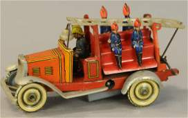 KELLERMAN FIRE TRUCK PENNY TOY