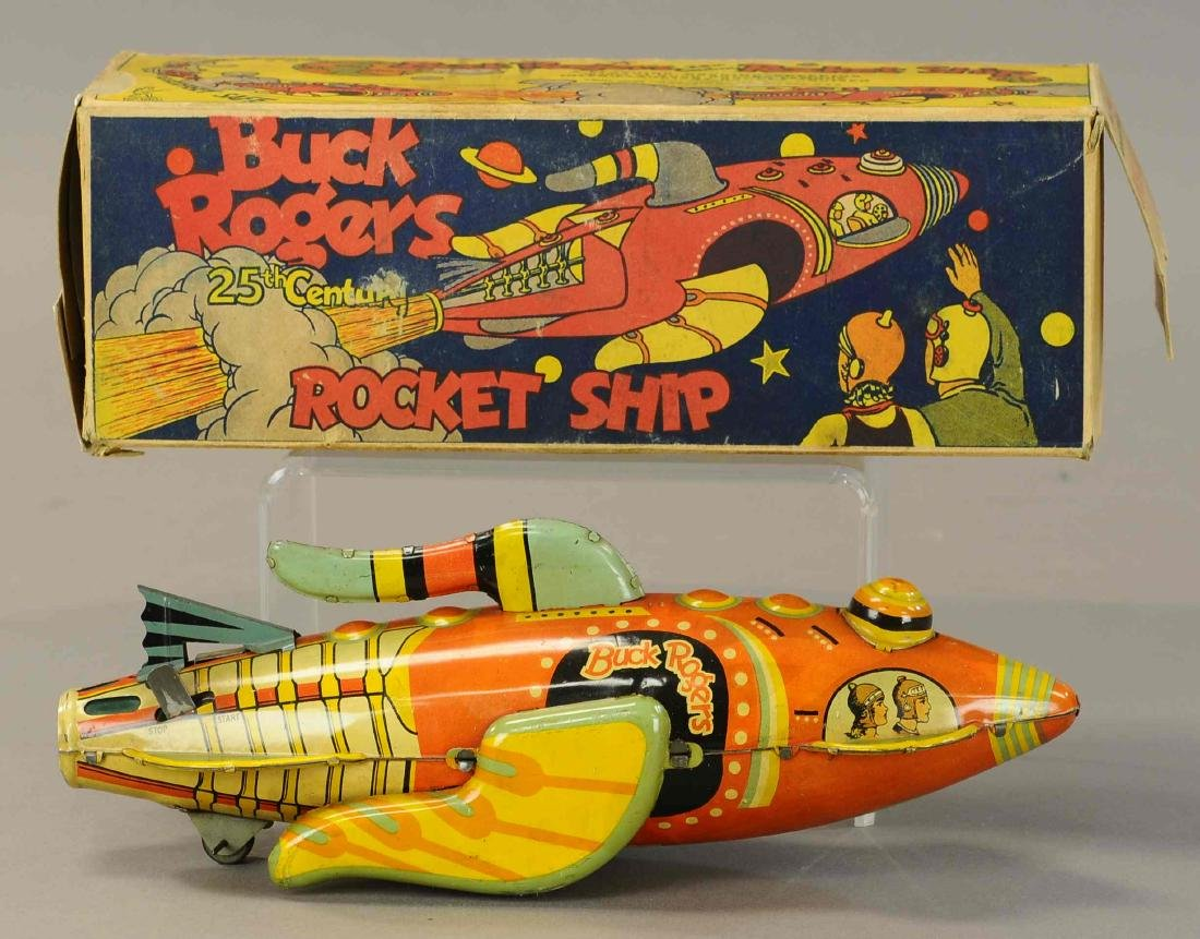 BOXED MARX BUCK ROGERS ROCKET CRUISER