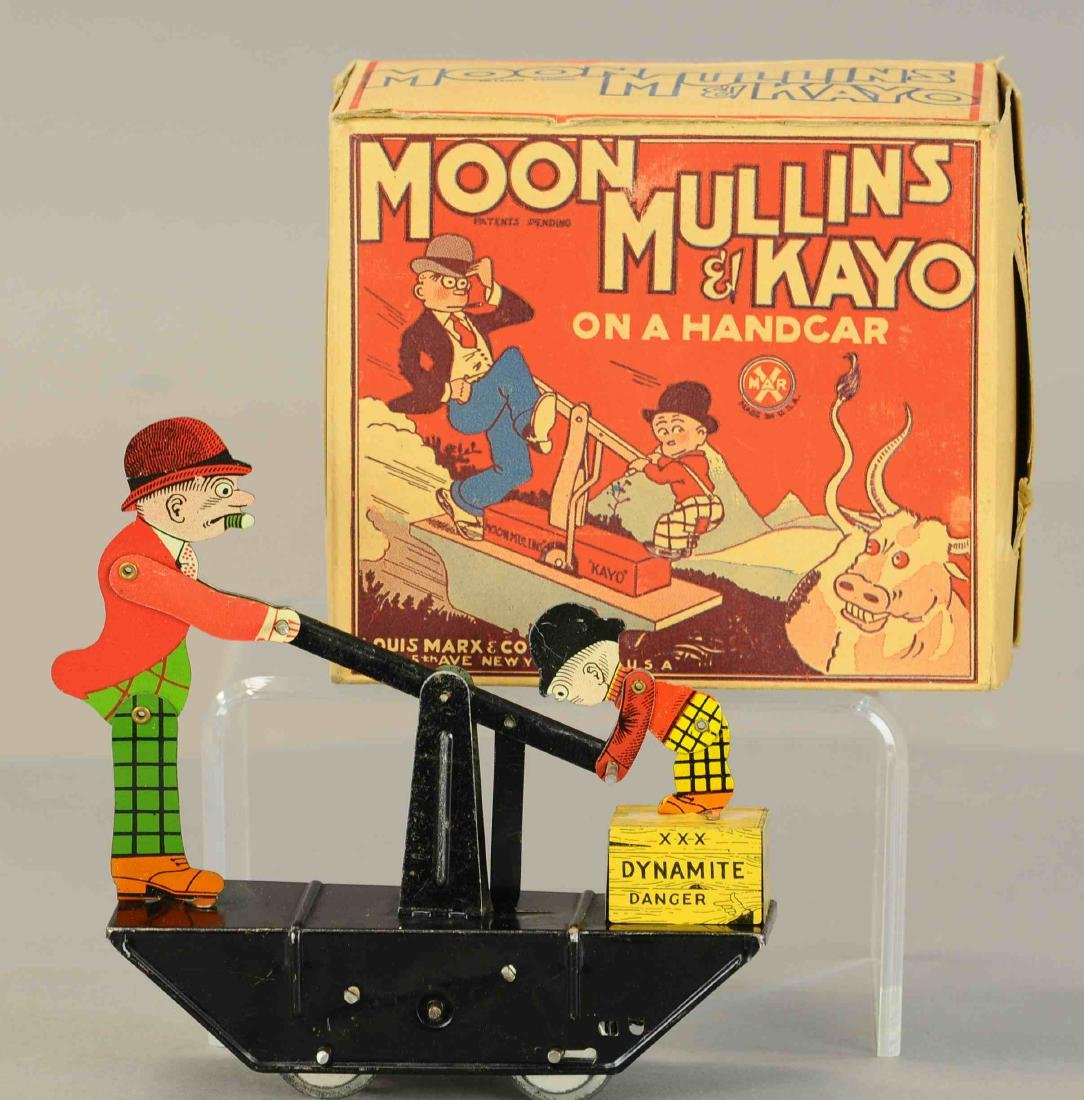 BOXED MARX MOON MULLINS HANDCAR