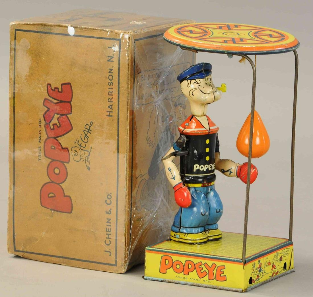 BOXED CHEIN POPEYE OVERHEAD PUNCHER