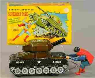 BOXED LINEMAR SUPERMAN FIGHTING TANK
