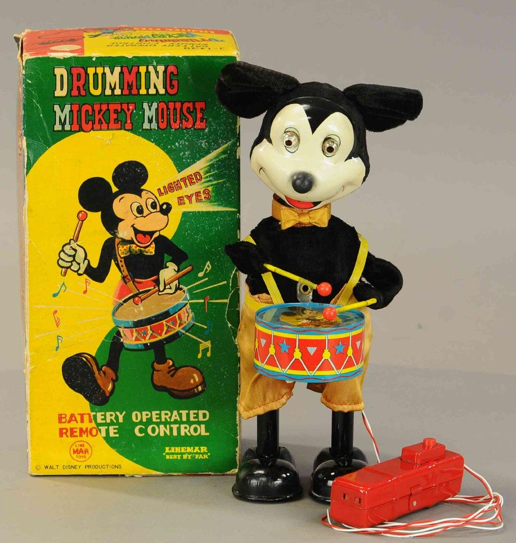 BOXED LINEMAR DRUMMING MICKEY MOUSE