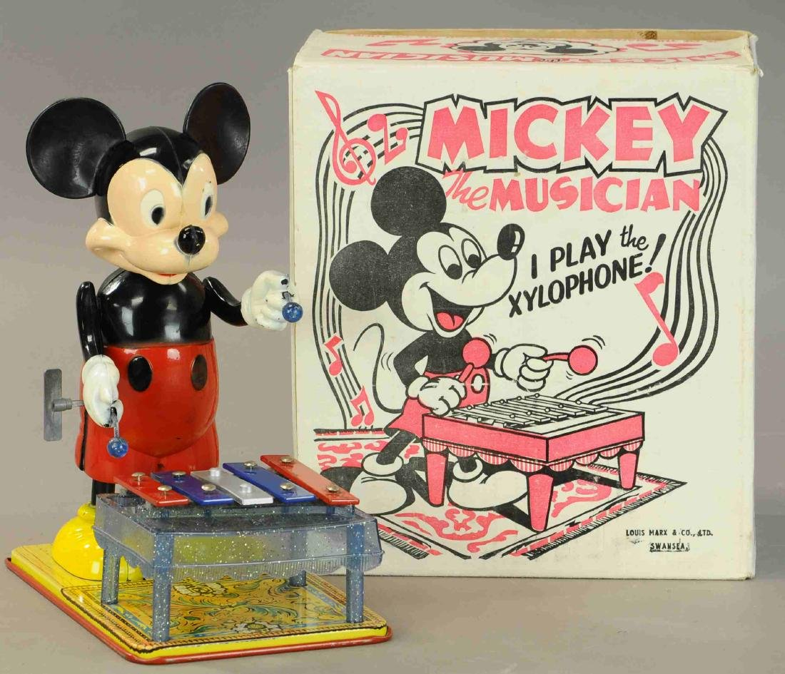 BOXED MARX MICKEY THE MUSICIAN