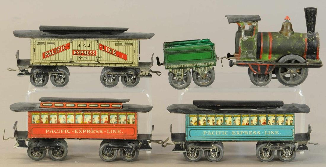 EARLY ISSMAYER PACIFIC EXPRESS SET