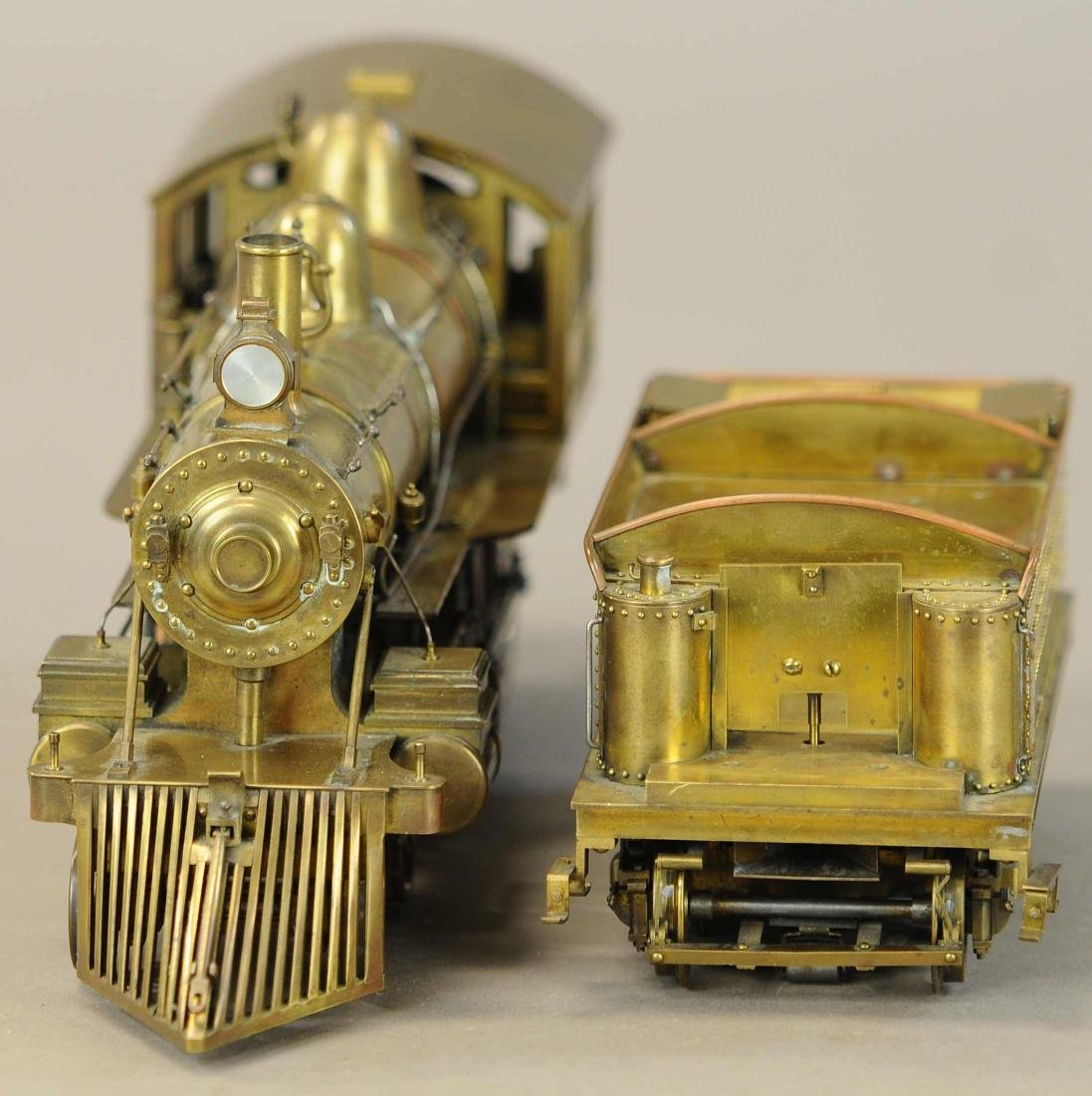 BRASS STANDARD GAUGE MODEL LOCOMOTIVE - 3