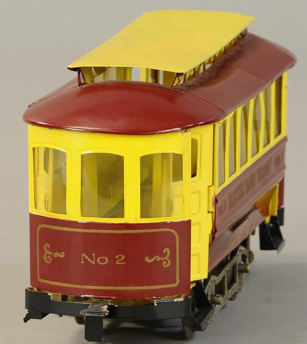 LIONEL NO. 2 RAPID TRANSIT TROLLEY - 4