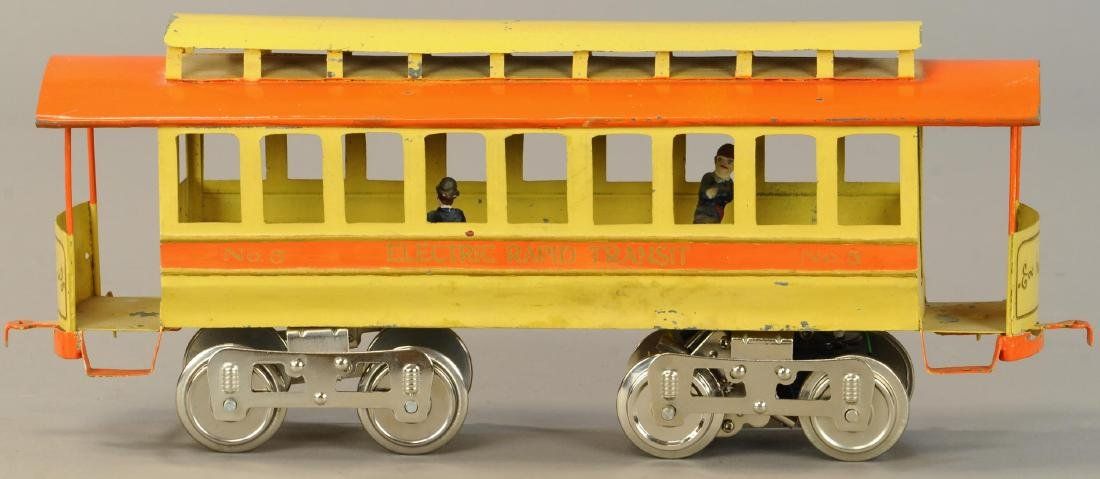 LIONEL NO. 3 TROLLEY - 3