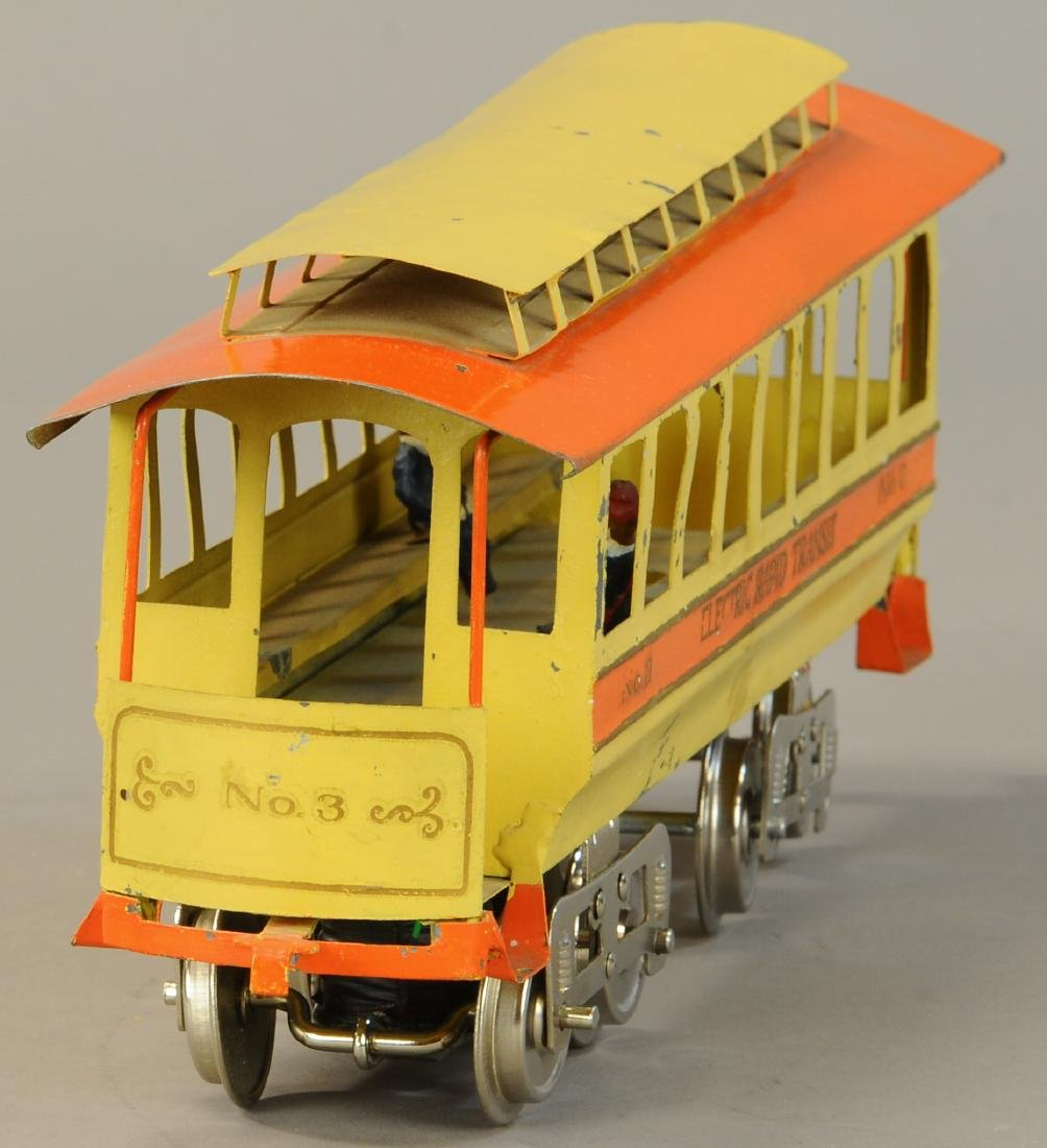 LIONEL NO. 3 TROLLEY - 4
