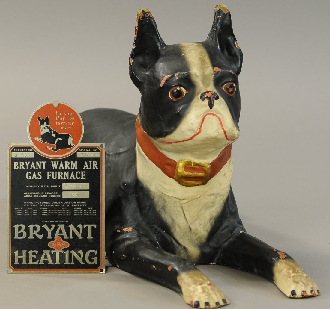 THE BRYANT STOVE CO. BULL DOG