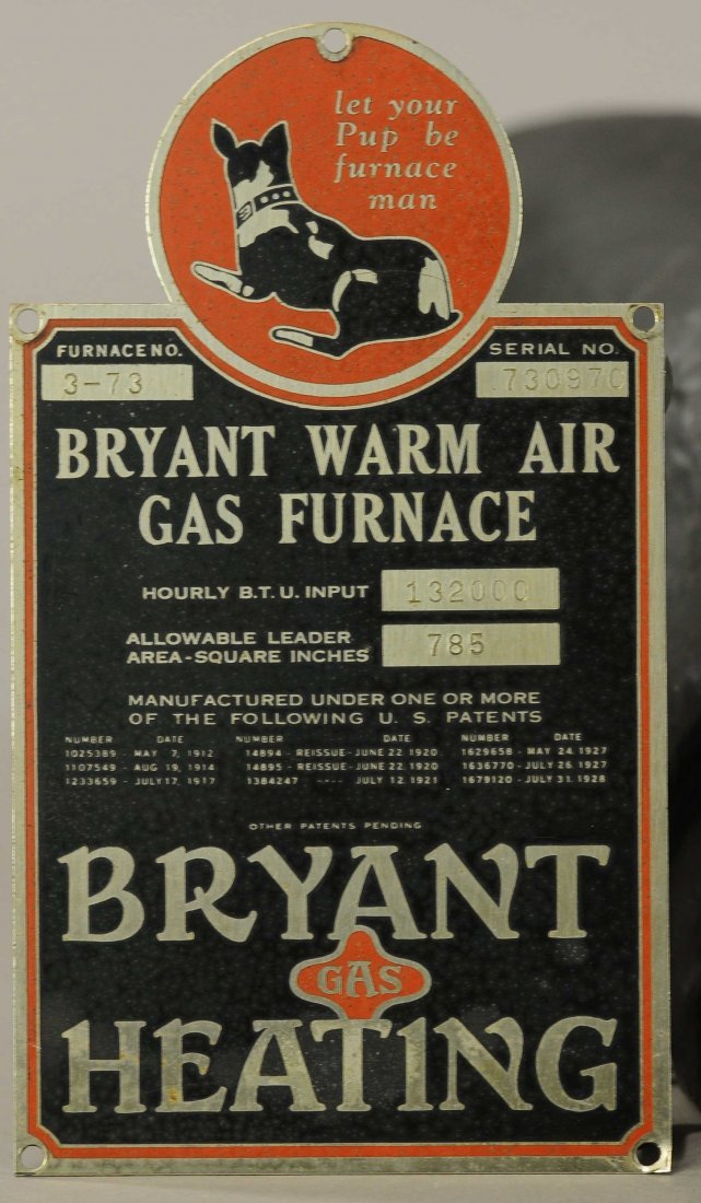 THE BRYANT STOVE CO. BULL DOG - 2