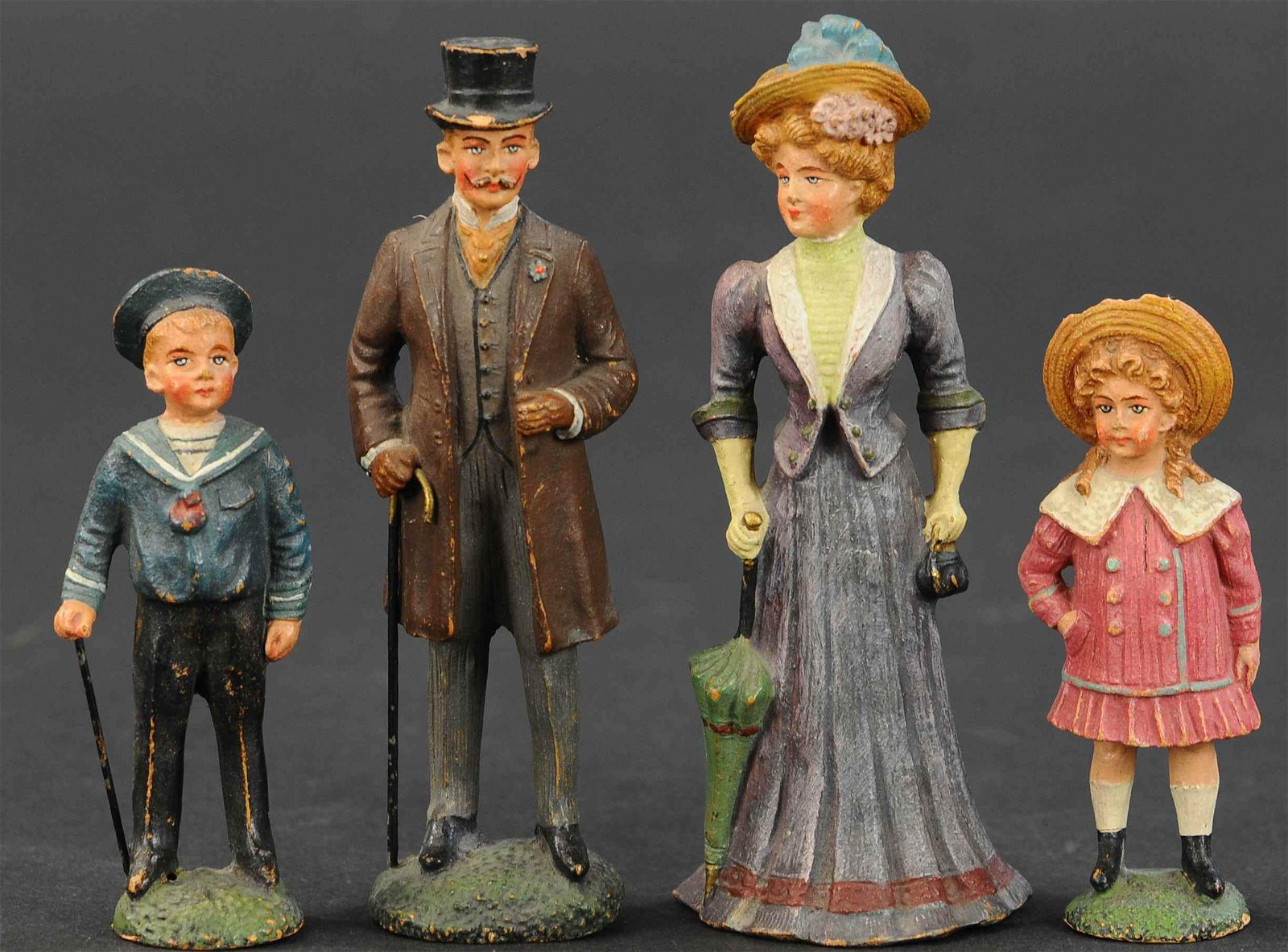 PFEIFFER 1914 EDWARDIAN FIGURES