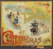 THE GAME OF TOBOGGANING AT CHRISTMAS