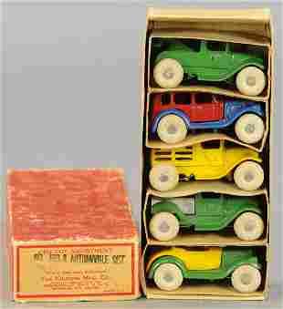 KILGORE BOXED AUTOMOBILE SET NO. 450-R