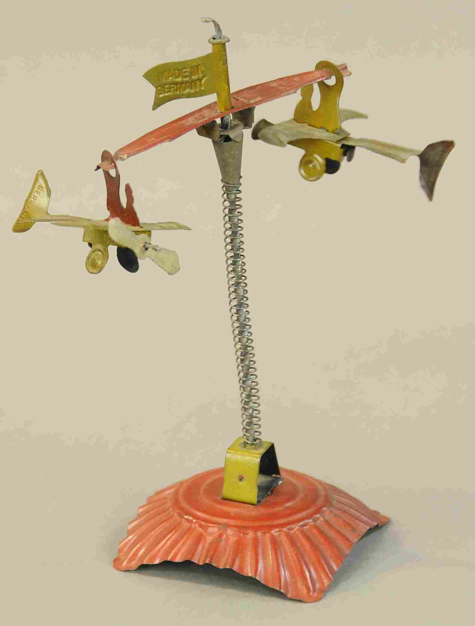 AIRPLANE SPIRAL PENNY TOY