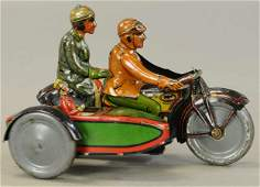 RICO FAMILY MOTORCYCLE WITH SIDECAR