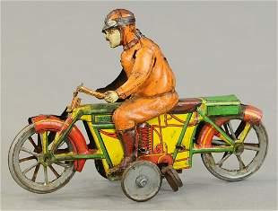 KELLERMAN MOTORCYCLE W/ RIDER