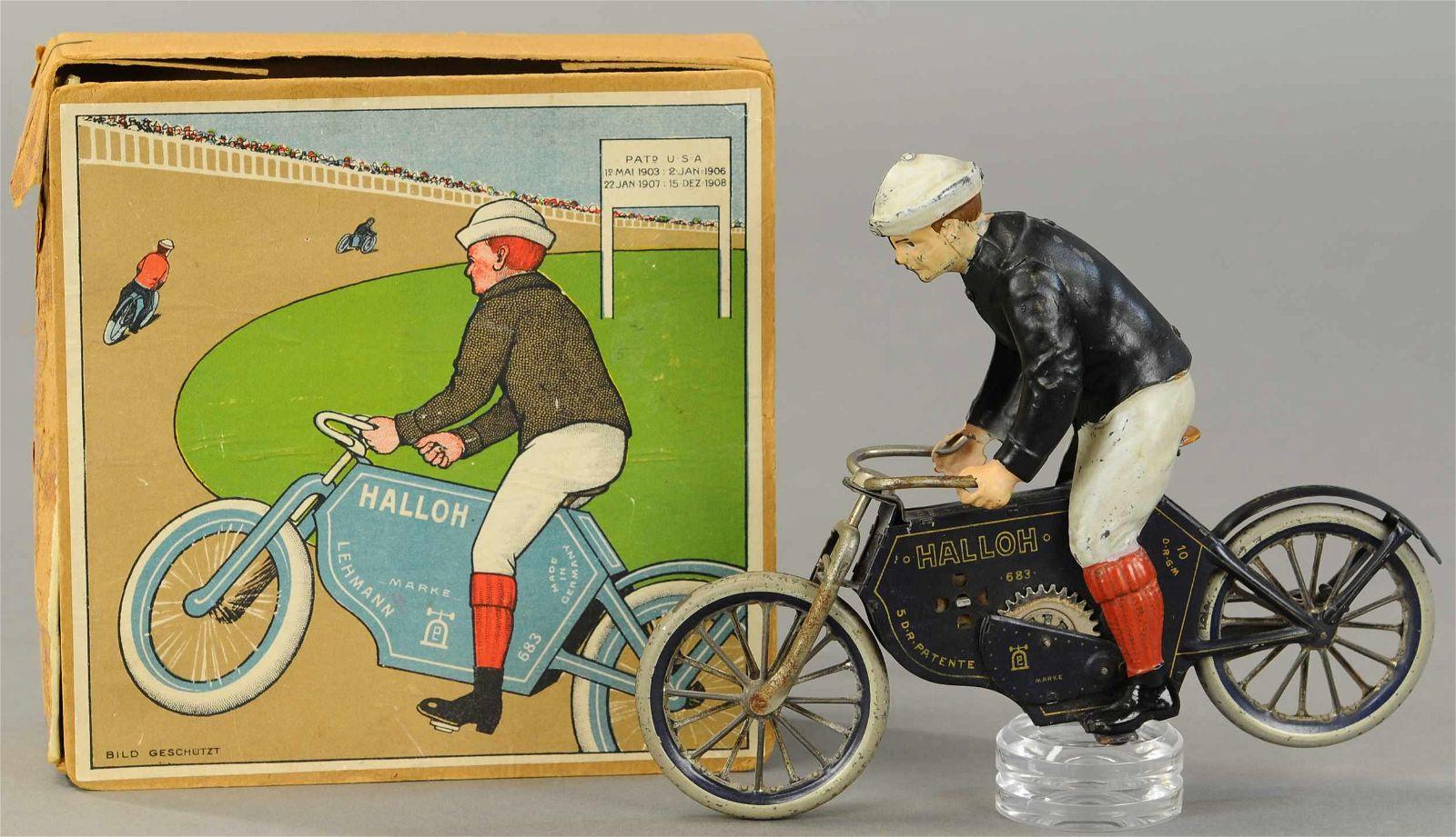 BOXED LEHMANN HALLOH MOTORCYCLE