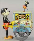 MICKEY MOUSE HURDY GURDY ORGAN GRINDER