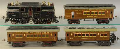 IVES 3240 LOCOMOTIVE PASSENGER SET
