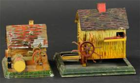 TWO DOLL CO LOG MILL STEAM TOYS