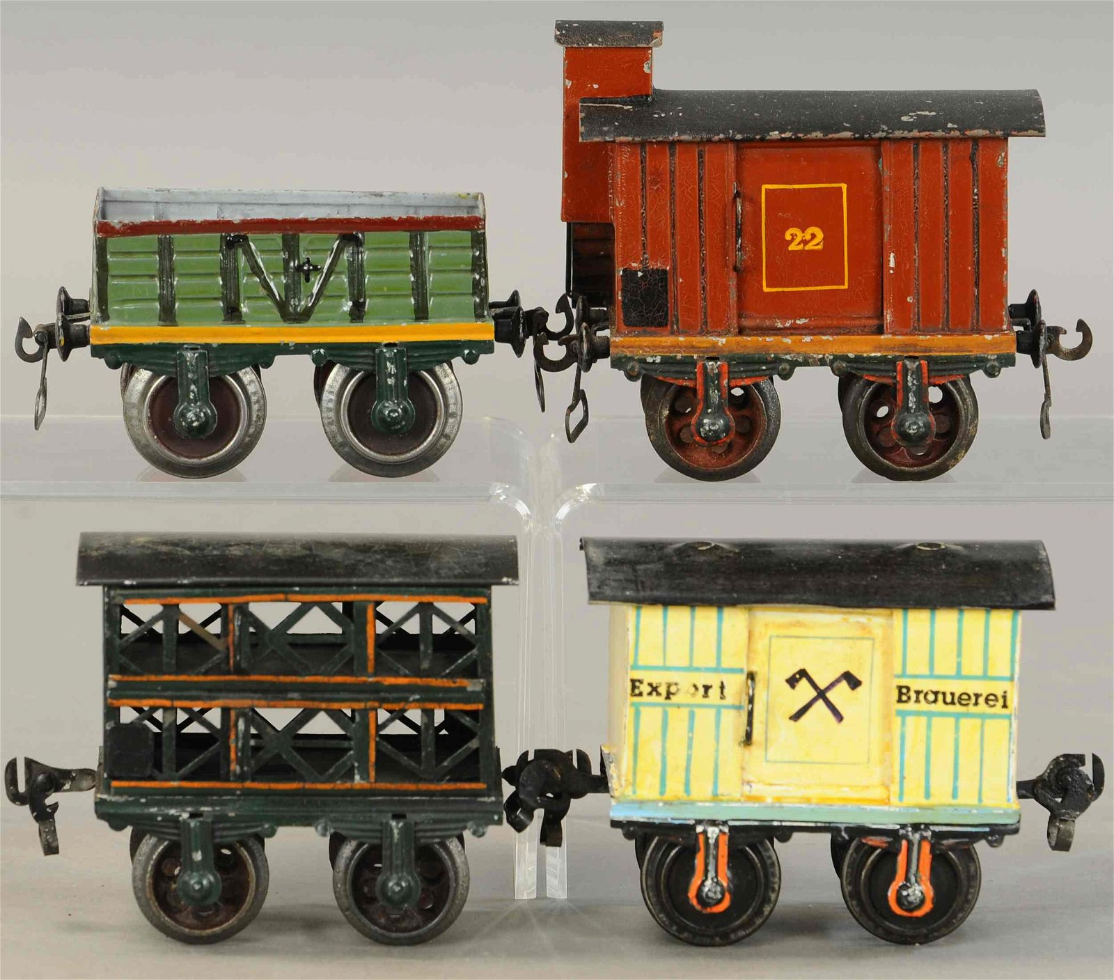 MARKLIN BEER WAGON & FREIGHT CARS
