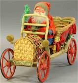 SANTA IN LARGE CHRISTMAS GREETINGS AUTO