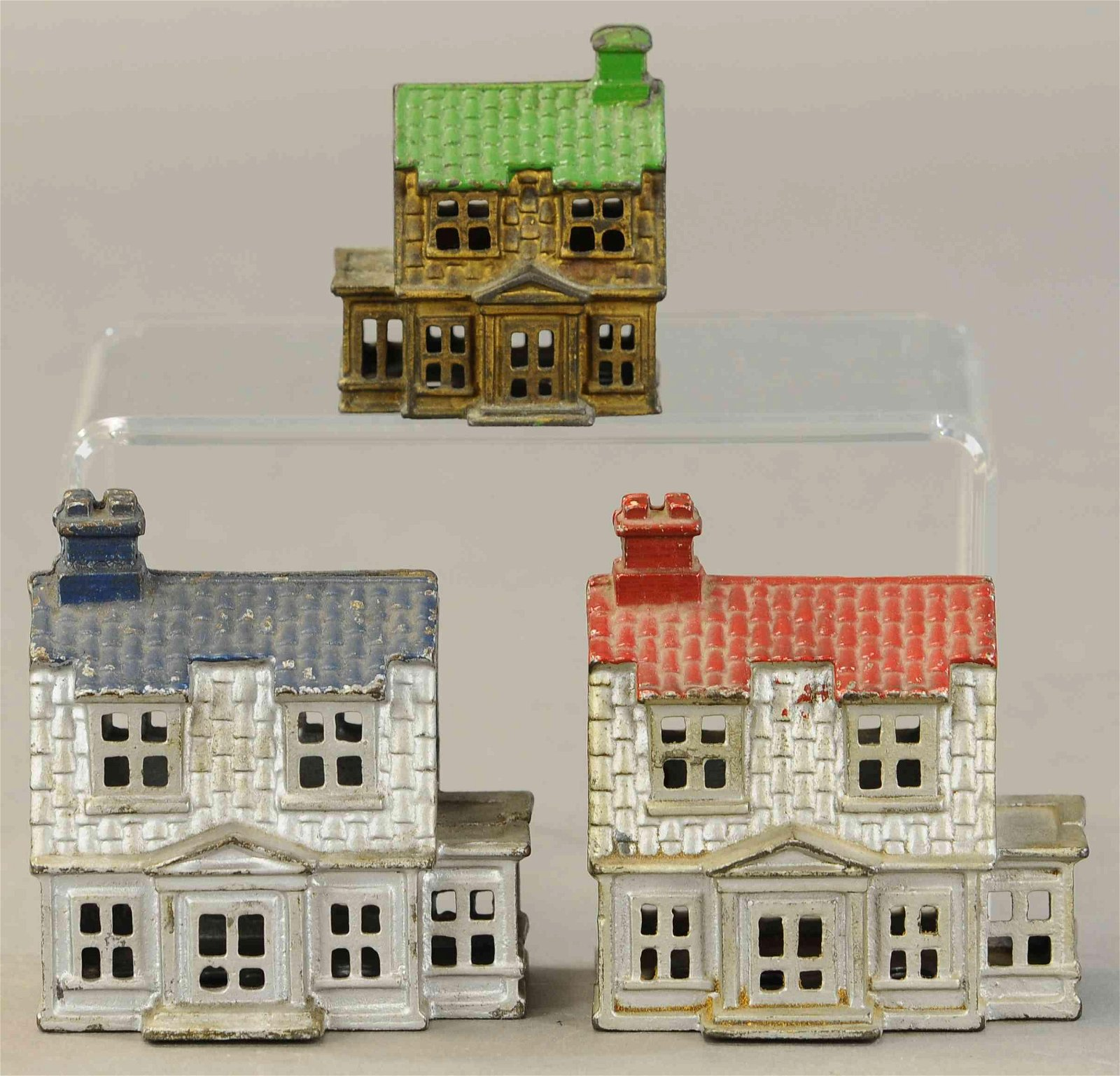 LOT OF 3 COLONIAL HOUSE STILL BANKS