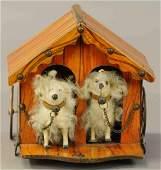 MECHANICAL DOG HOUSE, PLATFORM TOY