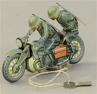 CKO ARMED MILITARY MOTORCYCLE