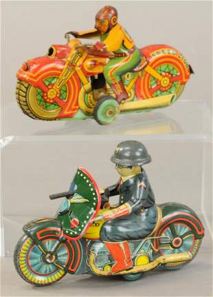 JAPANESE MILITARY & SPED LION CYCLES
