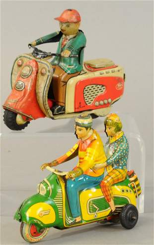 GERMAN & JAPANESE SCOOTER TOYS