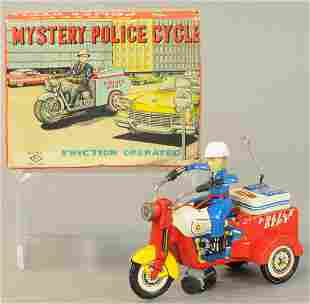 BOXED TM JAPAN MYSTERY POLICE CYCLE